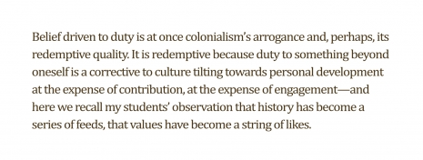 Orientalisms, Colonialisms, Patriarchies, 2015
